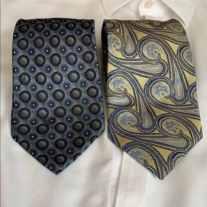 Other - 100% silk men's neck ties